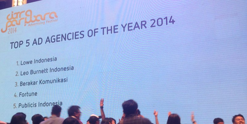 CP agency of the year 2014