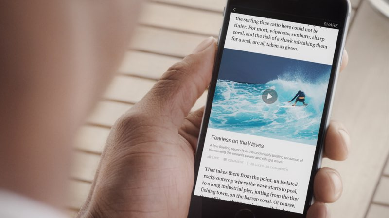 FB Instant Article Wave