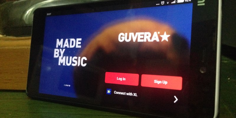 Guvera mobile android