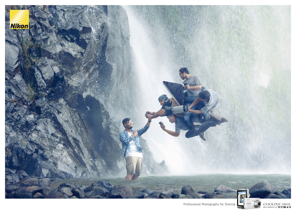 Nikon – Waterfall | J. Walter Thompson